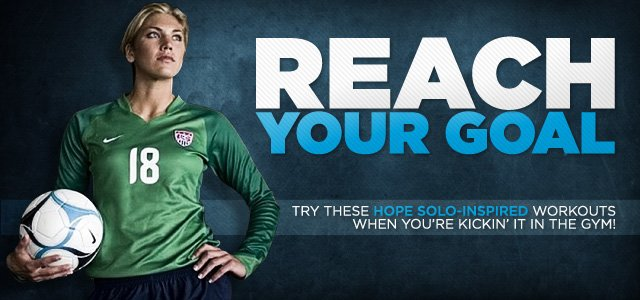 Goalie Power! Train Like, Soccer Goalie, Hope Solo