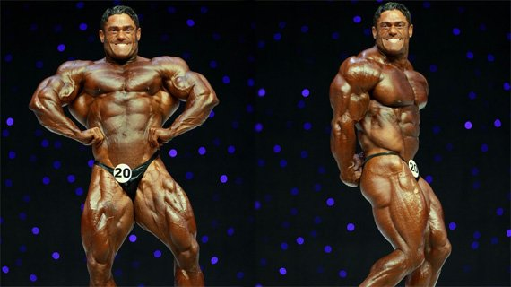 Gustavo Badell at the 2009 Mr. Olympia