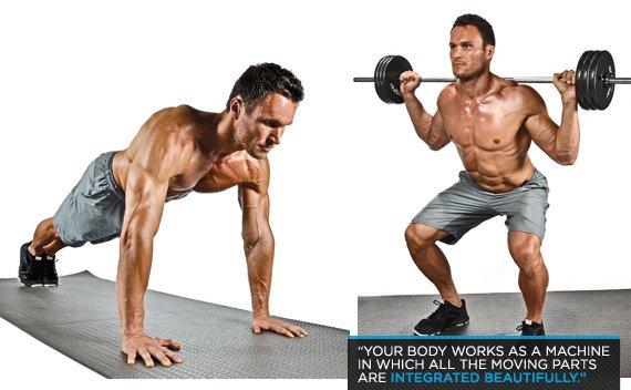 Body Building - Magazine cover