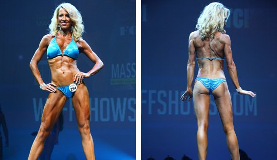 Judges happily awarded Heather for her drop-dead gorgeous physique.