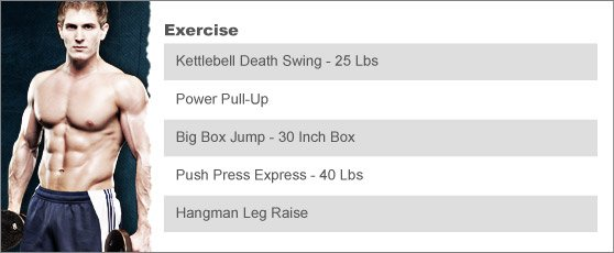 Week 5: SCOTT HERMAN'S BREAKDOWN WORKOUT