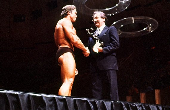 Arnold won The Olympia again in 1971.
