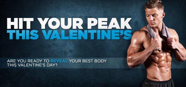 Hit Your Peak On Valentine's Day.