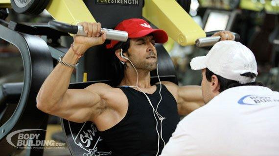 Hrithik Roshan Workout Kris Gethin Transforms Bollywood Star