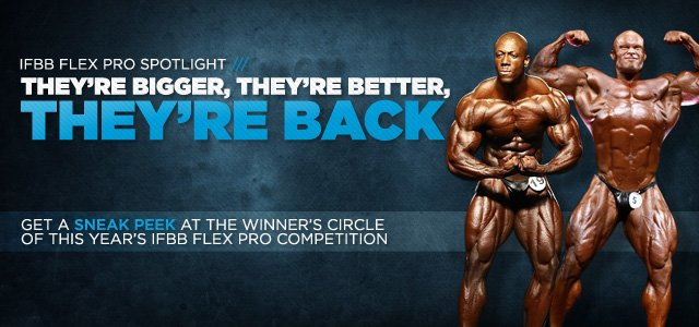 IFBB Flex Pro Spotlight: The Dudes You'll Want To Watch
