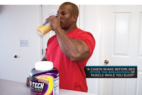 Replace About 10 20 Grams Of Your Post Workout Whey With Casein Protein And