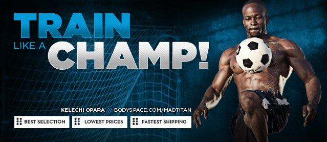 Train Like A Champ