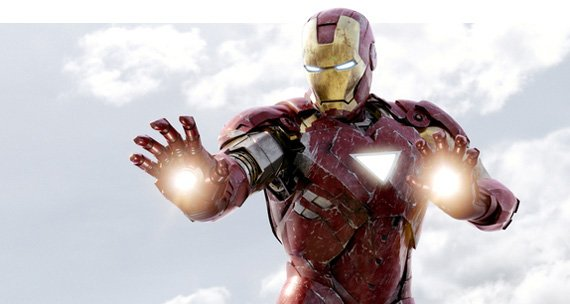 Iron Man: He just got done whooping Mega Man's @ss.