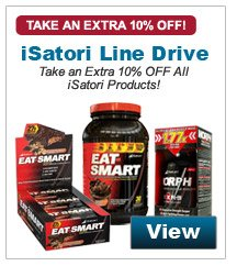 Take an extra 10% Off all iSatori products!