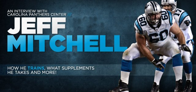 An Interview With Carolina Panthers Center Jeff Mitchell