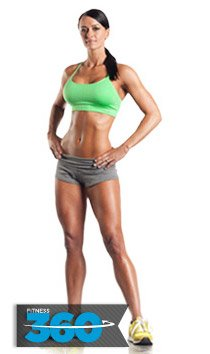 Jen has a fabulous figure. She can help you lose fat and carve your own fab physique.