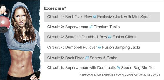 Week 7: JNL'S FUSION BACK WORKOUT