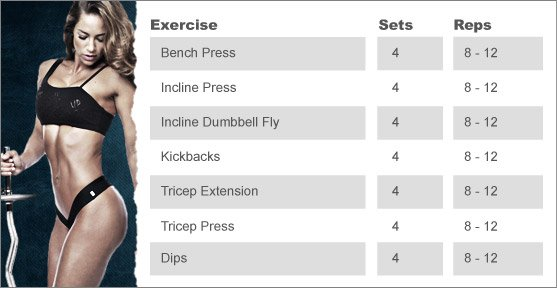 Week 9: JNL'S CHEST & TRICEP CIRCUIT