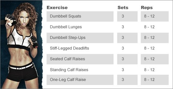 Week 11: JNL'S LEG WORKOUT