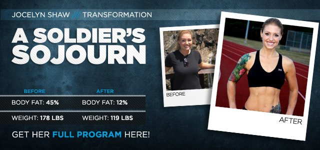 Body Transformation: A Soldier's Sojourn