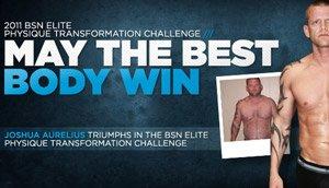Joshua Aurelius Owns The 2011 BSN Elite Physique Transformation Challenge!