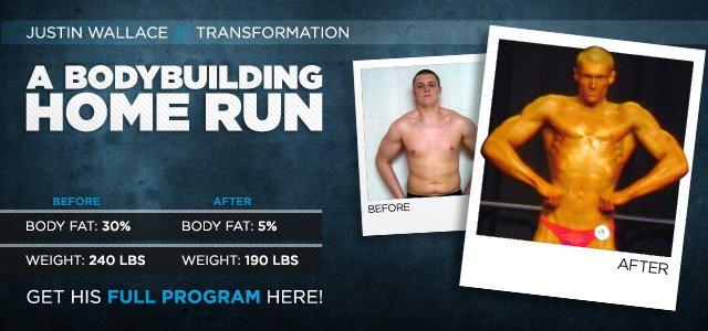 Body Transformation: A Bodybuilding Home Run