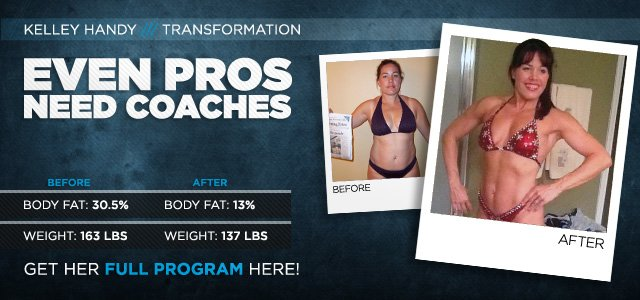 Body Transformation: Even Pros Need Coaches