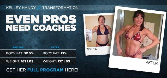 Body Transformation: Even Pros Need Coaches