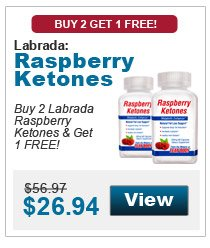 Buy 2 Labrada Raspberry Ketones & get 1 FREE!