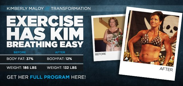 Body Transformation: Exercise Has Kim Breathing Easy