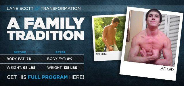 Body Transformation: A Family Tradition