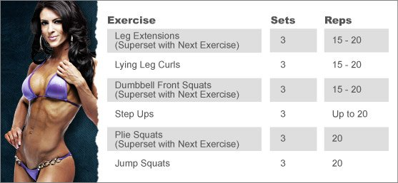 Week 8:AMANDA LATONA'S LEG WORKOUT