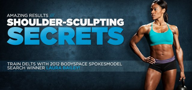 Laura Bailey's Shoulder-Sculpting Workouts