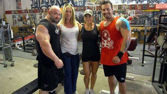 The Warrens and The Gethins at the Metroflex Gym