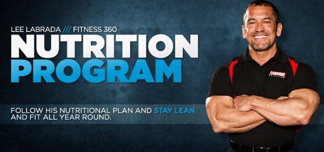 Lee Labrada Fitness 360: Bodybuilding's Perfect Man - Nutrition