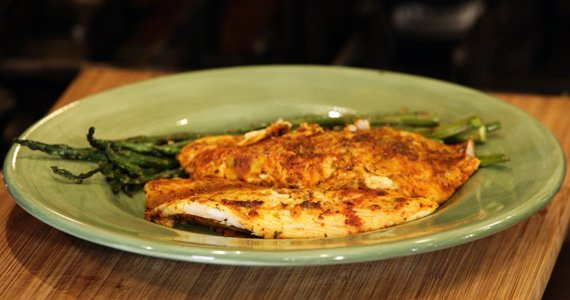 Lime And Curry Tilapia