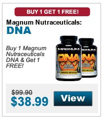 Buy 1 Magnum Nutraceuticals DNA & get 1 FREE!