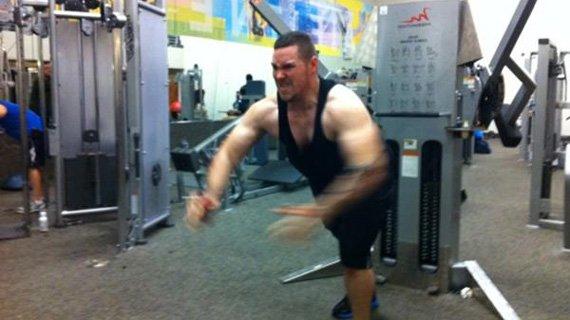Jordan didn't die; instead, he kills it in the gym!