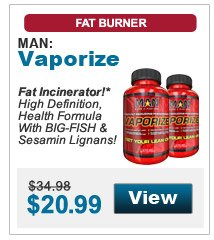 Fat Incinerator!* High Definition, Health Formula With BIG-FISH & Sesamin Lignans!