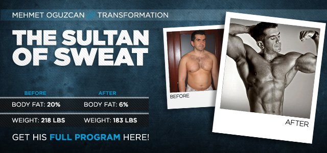 Body Transformation: The Sultan Of Sweat
