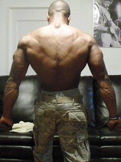 Military Bodybuilder Of The Month Michael T Ray