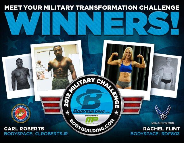 2012 Military Winners