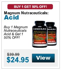 Buy 1 Magnum Nutraceuticals Acid & get 1 50% OFF!