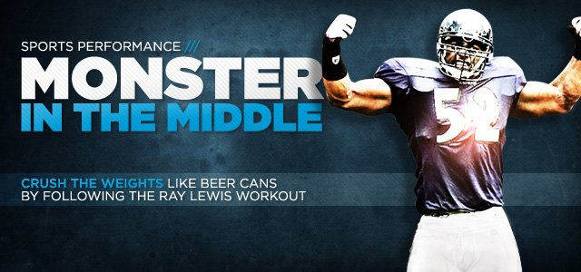 Ray Lewis Workout: Train Like The Gridiron Great