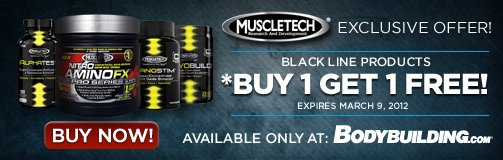BOGO Offer On Select MuscleTech Products!