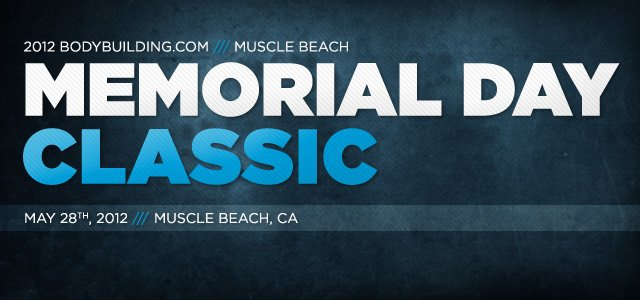 2012 Muscle Beach Memorial Day Classic