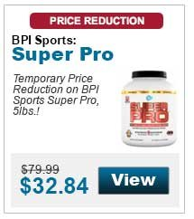 Temporary Price Reduction on BPI Sports Super Pro, 5lbs.!