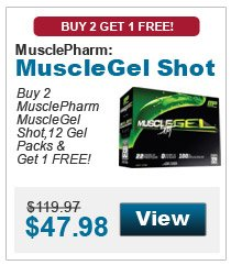 MusclePharm Gel Shots B2 G1