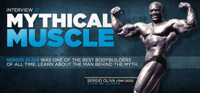 An Interview With The Myth:  The One And Only Sergio Oliva!