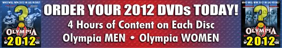 Pre-Order 2012 Olympia DVDs!