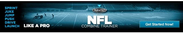 MuscleTech NFL Combine Trainer - Get Started Now!