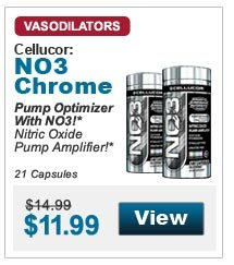 Pump Optimizer With NO3!* Nitric Oxide Pump Amplifier!* 21 Capsules