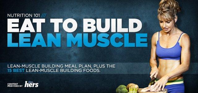 Lean muscle gain training program