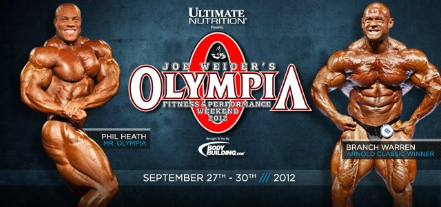 2012 Olympia Coverage