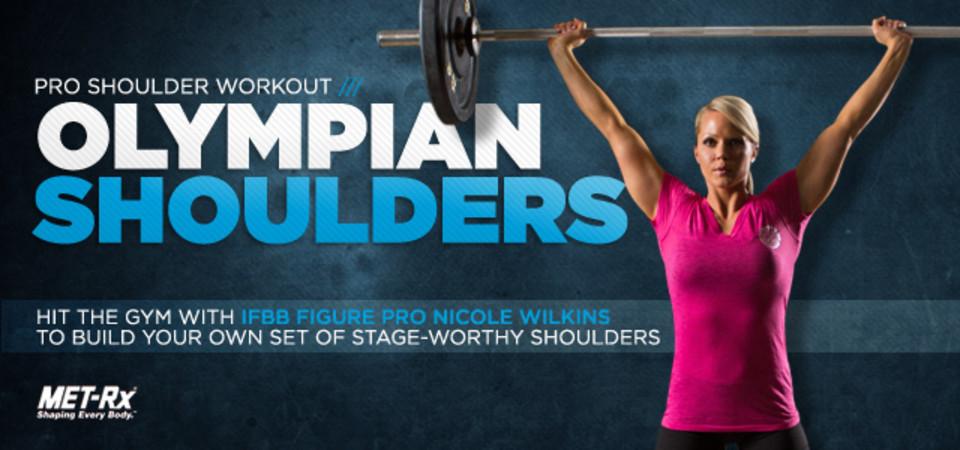 Nicole Wilkins Olympian Shoulder Workout